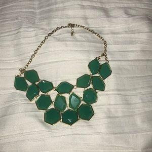 Turquoise gem necklace
